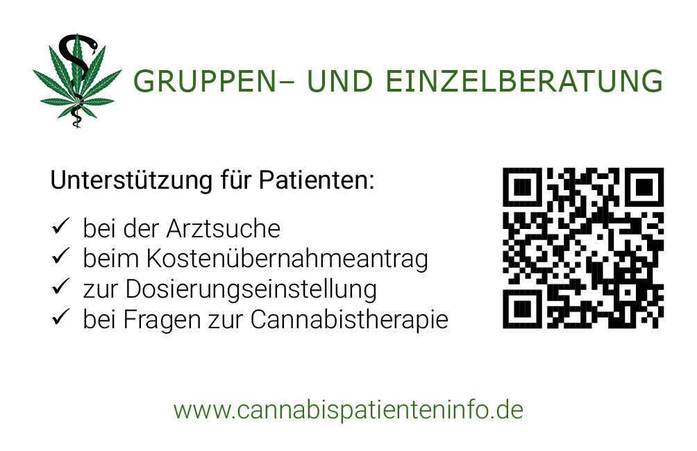 Visitenkarte Medizinalcannabis Berater und Coach Alexander Rupp