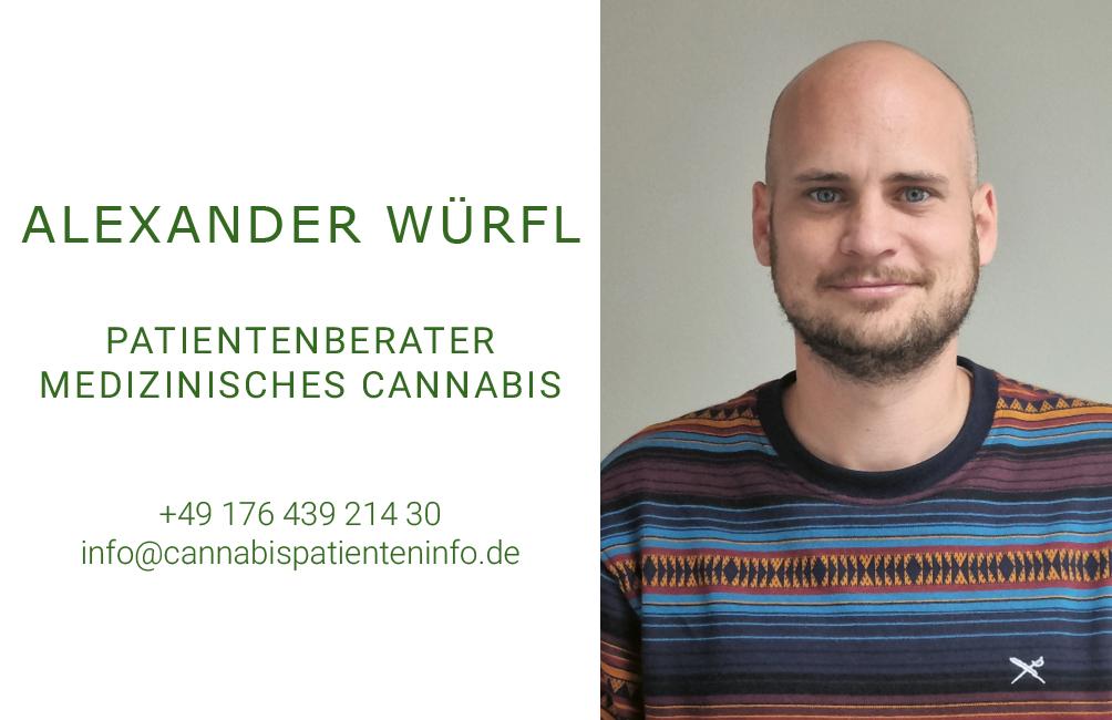 Medizinalcannabis Berater und Coach Alexander Würfl